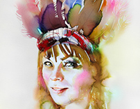 Watercolor Series : Women You Must Know