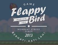 Flappy Bird Typography