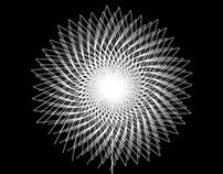 Processing, generative logo: Dandelion.