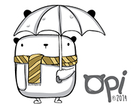 """OPI"" Stickers for Facebook Messenger"