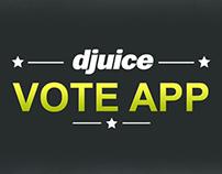 Djuice- Voting App mock