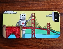 San Francisco Golden Gate Bridge iPhone case