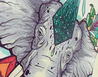 Mona Lisa Elephant