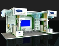 Carrier Booth for BEX