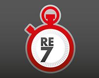 re7 - Logo et webdesign