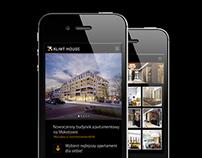 Klimt House - Developer mobile page
