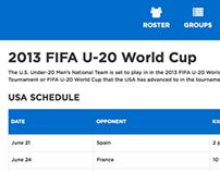 2013 U-20 World Cup Responsive Module