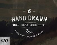 Hand Drawn Style Logos