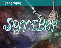 SpaceBoy Designer Font