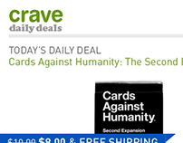 Crave - mobile site for testing Affirm payments