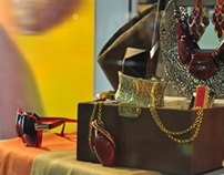 SM Accessories Spotted Campaign Window Display