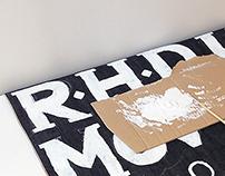 RHD denim signage