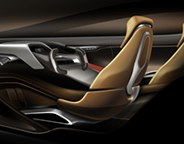 Tesla Model-S 2025 Interior Design