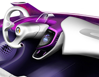 Dura Shift-by-Wire Vehicle Interior Design Competition