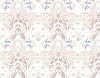 Wallpaper pattern design 19 Edouard Artus ©2014