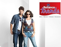 RELIANCE TRENDS SPRING SUMMER 2014 CAMPAIGN-WOMEN / MEN