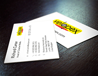 Velopex Business Cards