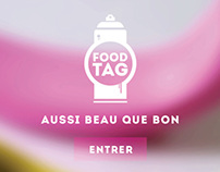 FOODTAG anti gaspillage alimentaire