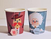 "Tea ""Legends"" cups"