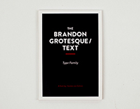 Brandon Grotesque / Text Type Specimen