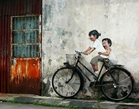Bicycle - In Penang, Malaysia