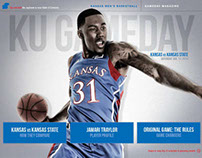 Kansas Men's Basketball Digital Gameday App