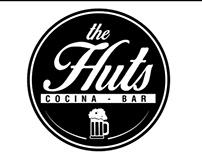 The Huts . Cocina - Bar .