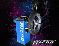 Micro - Wheel Balancing Machine Flyer