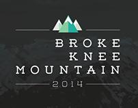 BROKE KNEE MOUNTAIN 2014