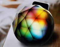 Black Diamond - Interactive Ambiance iPhone Dock