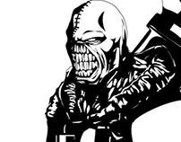 Resident Evil 3: Nemesis [Uncolored]