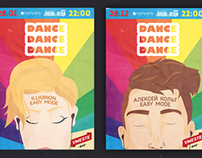 DanceDanceDance posters