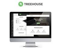Treehouse – Free PSD Web Template