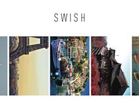UX, UI, Visual: Travel Application - Swish
