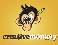 Creative Monkey Logo Animation