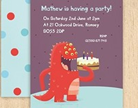 Made By Ellis - Party Invitations