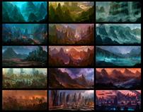Environment sketches v2