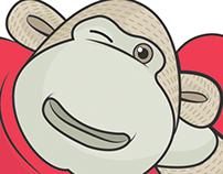 Valentine's Day Monkey