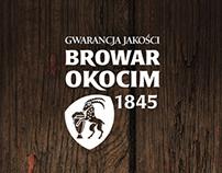 Browar Okocim website
