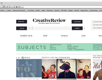 Website Redesign-Creative Review