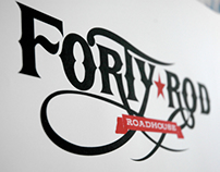Forty-Rod Roadhouse - Brand Design