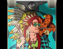 Índio - Skateboard Deck