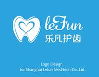 Lefun Logo Design