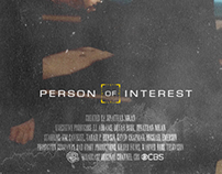 Person of Interest S2 appreciation poster design