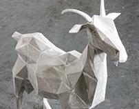 Goat  Sculpture ( Capella )