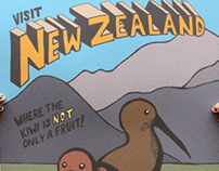 New Zealand Travel Posters