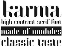 Karma | Modular Font