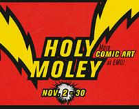 Holy Moley More Comic Art catalog