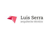 Identidad Luis Serra - Aparejador