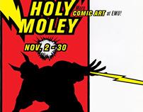Holey Moley Poster Series